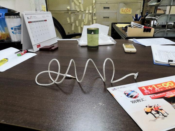 飞利浦(PHILIPS)镀银AUX车用立体声3.5mm音频线1.5米公对公手机电脑音箱连接线 SWA5511/93B 晒单图
