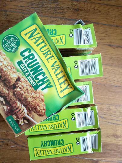 西班牙进口NatureValley天然山谷香脆谷物条全谷物燕麦棒能量棒代餐饼干 蜂蜜口味210g 晒单图