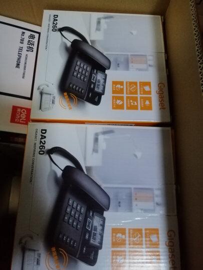 集怡嘉(Gigaset)原西门子品牌 电话机座机 固定电话 办公家用 双接口 免电池 DA260白色 晒单图