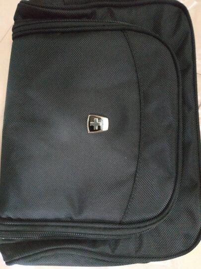 瑞动(SWISSMOBILITY)数码收纳包 防泼水多功能 数据线耳机充电宝电源整理收纳袋 深灰色双色布 5901 晒单图