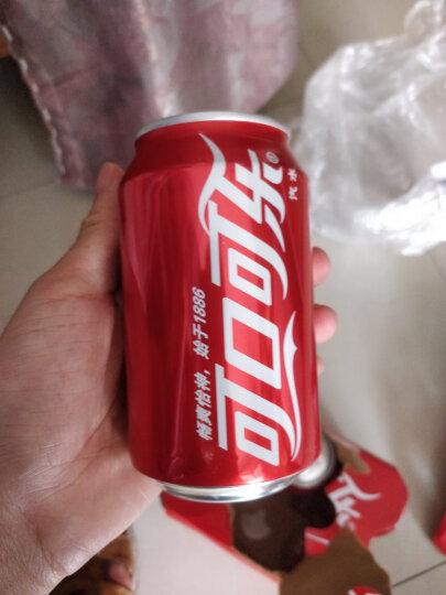 可口可乐 Coca-Cola 汽水饮料 碳酸饮料 330ML*6罐多包装 晒单图