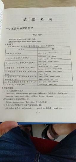 初中英语语法精讲精练 晒单图