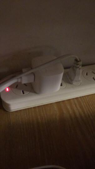 公牛(BULL)自动断电防过充双口usb旅行充电插头手机充电器充满断电无线USB插头GN-U212T 晒单图