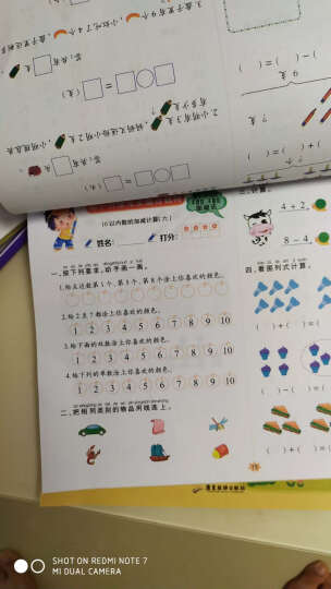 幼小衔接一日一练全套10册 幼升小学前班整合教材 10 20 100以内加减法练习册幼小衔接数学拼音 晒单图