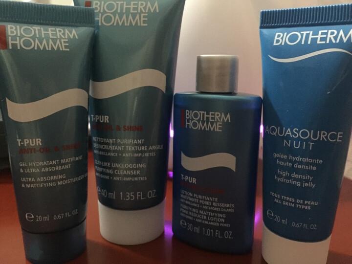 男士护肤化妆品套装 净肤细致旅行装4件(洁面+爽肤水+精华+乳液) 晒单图