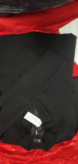 【月销上千】特洛曼职业装女装套装秋冬新品正装女韩版小西装外套 工装保险销售酒店4S工作服女士西服套装 黑上衣+8781衬衫+马甲+西裤+西裙; XL 晒单图