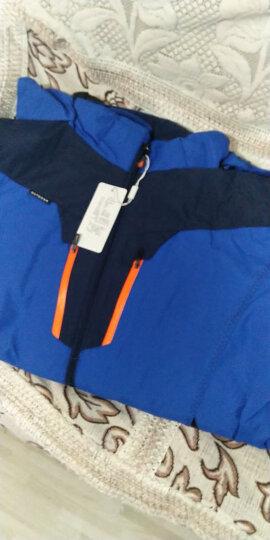 南极人(NANJIREN)冲锋衣裤男女三合一两件套防风防水透气保暖户外登山滑雪服 女玫红 M 晒单图