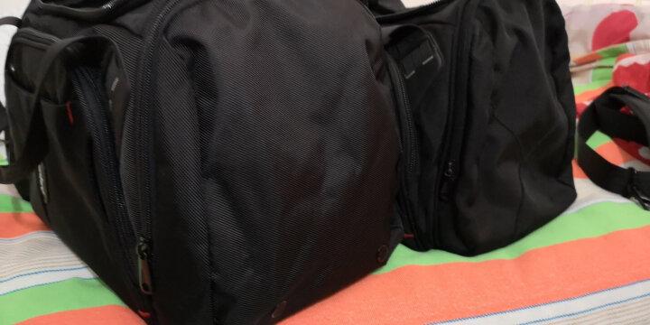 艾奔大容量商务短途出差旅行包 男士手提行李包健身包女AS11K10 普鲁士蓝 22英寸 晒单图