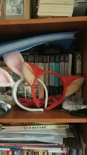 恬馨美饰 王俊凯同款朱迪兔子兔耳朵发箍迪士尼疯狂动物城卡通头饰儿童发饰 橘色狐狸 晒单图