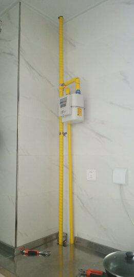 佐佑众工 22mm油管保护套 液压胶管螺旋保护套 管子装饰工具 线缆缠绕保护套管 2米/根 黄色/2米一根 22mm 晒单图