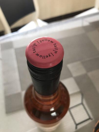 黄尾袋鼠(Yellow Tail)幕斯卡桃红葡萄酒 澳大利亚进口葡萄酒 750ml 单瓶装 晒单图