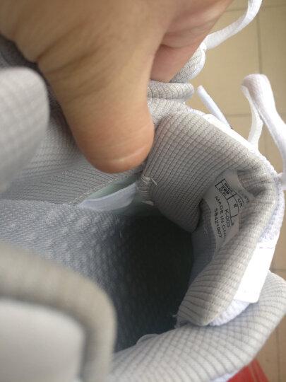 """川崎kawasaki 专业羽毛球鞋""""追风""""系列K-003 42码(白/银/红) 晒单图"""