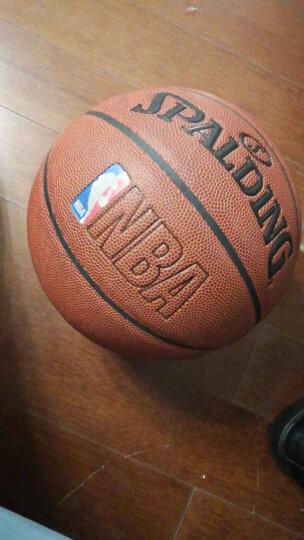Spalding 斯伯丁 64-287/74-601Y 室内外兼用 PU皮彩色运球人NBA专业篮球 晒单图
