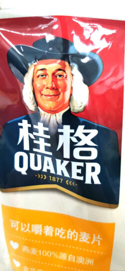 桂格(QUAKER)燕麦片 桂格麦果脆 热带水果风味 水果麦片420g 加酸奶更美味 即食早餐麦片 不含反式脂肪酸 晒单图