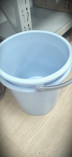 vivian 大号水桶17L 耐用加厚清洁塑料提桶 大容量拖把桶 WWA-1153 晒单图