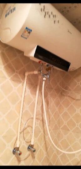 美的(Midea)双2100W速热 无线遥控 一级能效多倍增容 防电墙电热水器60升 F6021-A2(HEY) 晒单图