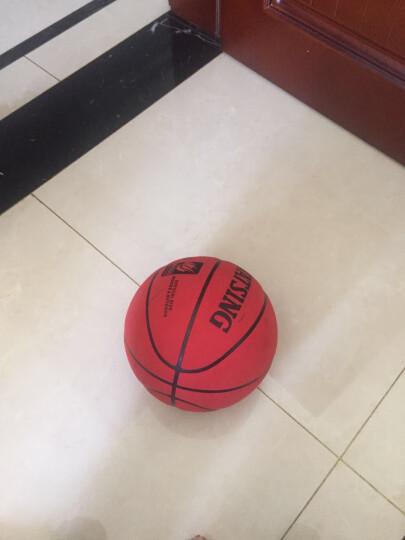 WITESS 篮球番毛软皮加厚真皮手感7号标准比赛篮球室内室外通用蓝球 加厚耐磨红棕色款-送全套配件 晒单图