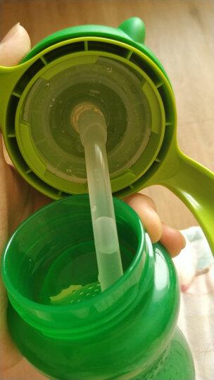飞利浦新安怡 水杯 儿童水杯 吸管杯 学饮杯 带手柄 塑料 300ml阳光绿 进口 适合12M+ SCF795/01 晒单图