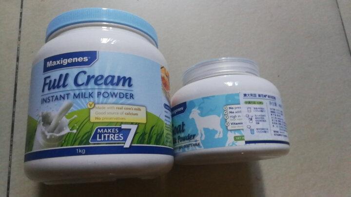 澳洲美可卓Maxigenes蓝胖子成人进口奶粉女性奶粉老年儿童奶粉 山羊奶粉400g单罐装 晒单图