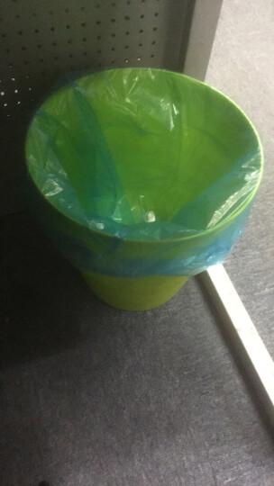 洁成手提背心式垃圾袋加厚90只 50cm*60cm*3卷 家用大号垃圾袋 垃圾分类 晒单图