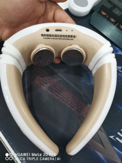 德国DEDAKJ(德迩杰)颈椎按摩器无线颈椎按摩仪肩颈部按摩器遥控充电热敷脉冲护颈仪家用办公 按摩披肩(捶打式)+99种手法+20档力度 晒单图