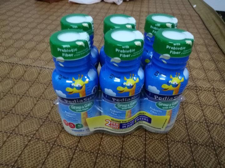 美国进口 Abbott(雅培) 小安素纤维即饮装液态奶 1-13岁 香草味 237ml/瓶*6瓶 水奶 晒单图