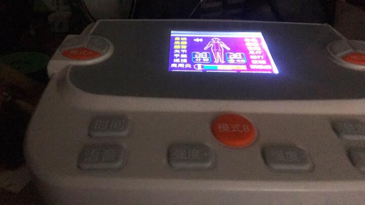 诺威娜 数码经络理疗仪中频激光治疗仪颈椎腰椎按摩仪穴位肩部按摩器多功能电子全身针灸电疗仪 TR-211+八字贴片10对 晒单图
