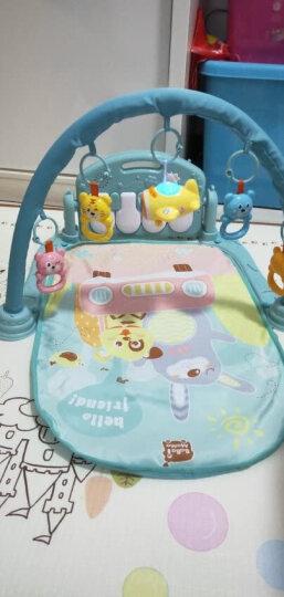 源乐堡(YuanLeBao)新生儿0-6月摇铃婴儿玩具健身架儿童脚踏刚琴早教机男女孩礼物宝宝0-1岁 【送充电】0辐射健身架可连接手机+麦克风 晒单图