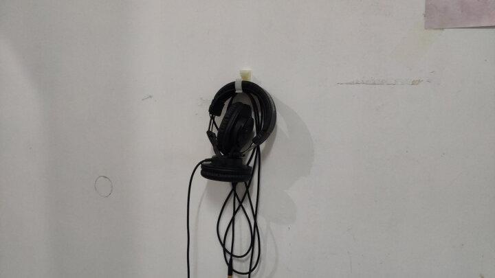 铁三角(Audio-technica)ATH-M30X 头戴式专业录音HIFI监听耳机 封闭式便携可折叠 晒单图