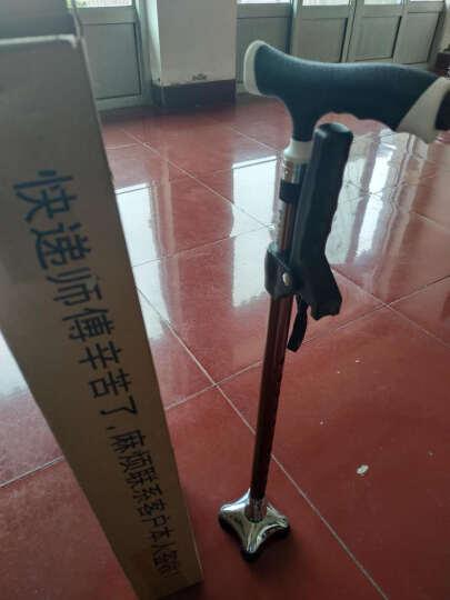 乐来福(REALLIFE) 实木拐杖 老人拐杖 老人助行手杖 拐棍 轻便防滑伸缩可调节I02YBZ 晒单图