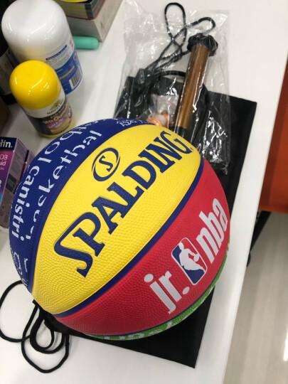 斯伯丁Spalding篮球青少年儿童5号篮球中小学生室内外用蓝球83-047Y 晒单图