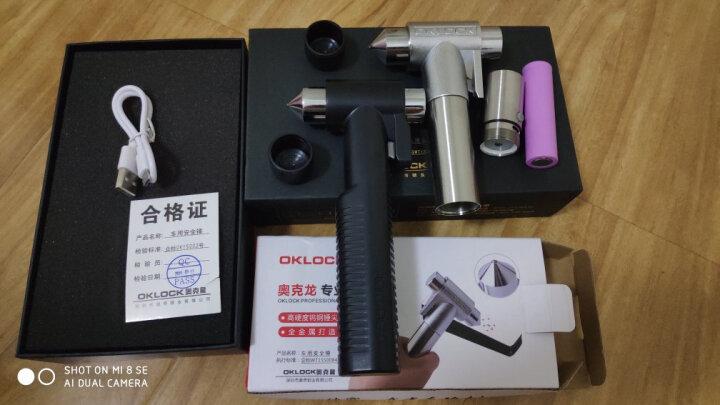 奥克龙 D3+ 安全锤带救援灯强光手电筒 破窗器汽车安全锤逃生锤救生锤 多功能安全锤 割刀 晒单图