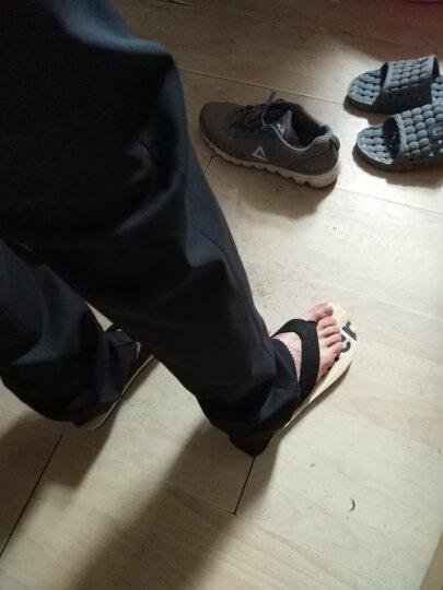 报喜鸟新款商务正装西服套装 韩版修身上班男士职业西装 黑色 46A/裤子腰围备注或咨询客服 晒单图