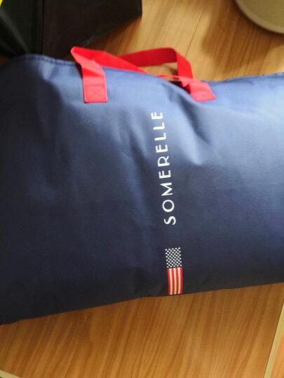 安睡宝(SOMERELLE)枕芯 科技纤维枕头 索瑞纳可水洗分区立体枕 高弹舒适 单只装 晒单图