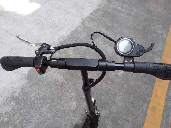 希洛普(SEALUP) 锂电池折叠迷你电动车 城市便携电瓶车  电动滑板车 可折叠电动车电瓶车 Q9/国家3C电机/18.2AH /60-70km 晒单图