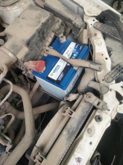 瓦尔塔(VARTA)汽车电瓶蓄电池蓝标75D23L 12V 日产奇骏三菱欧蓝德翼神格蓝迪标致4008 以旧换新 上门安装 晒单图