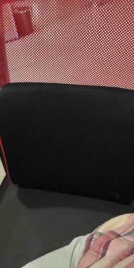铁臂阿童木汽车腰靠护腰垫夏季透气 卡通车上抱枕靠垫两用 车载办公靠垫背靠枕车内用品 单个装BZDP-05R红黑 晒单图
