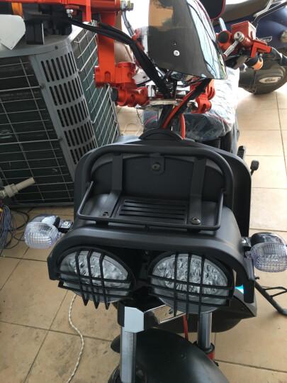 日杰(RIJIE)祖玛电动车电动摩托车电瓶车1800W72V踏板摩托车电车电摩军绿色 酒 红 超威72v20A 6个电瓶 晒单图