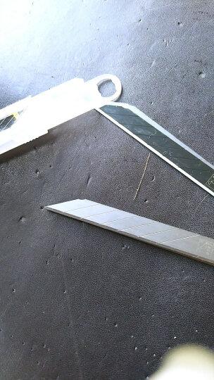 啄木鸟(WOODPECKER) 啄木鸟 FD-N40A小号9mm尖角30°美工刀片10片/盒 30片小号刀片 晒单图