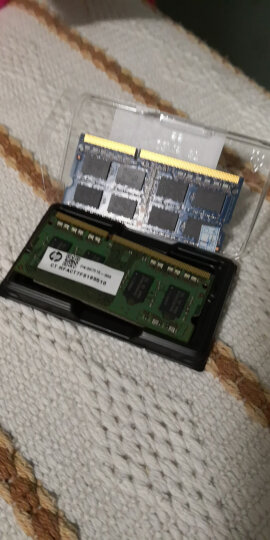 金士顿(Kingston) DDR3 1600 8GB 笔记本内存 低电压版 晒单图
