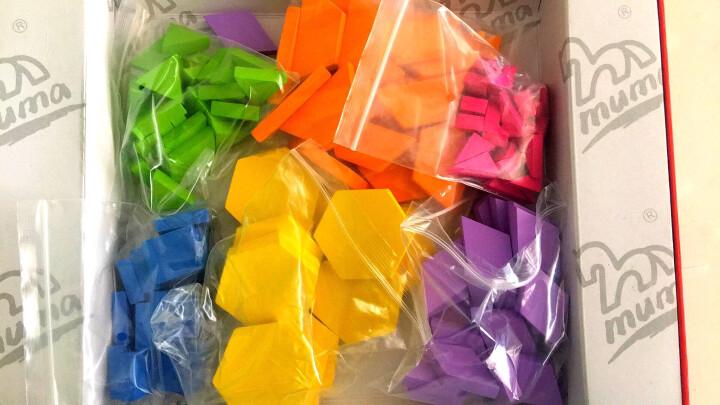 木马智慧 138片拼图积木儿童创意拼图木质制幼儿园玩具婴儿宝宝儿童男女孩盒装 晒单图