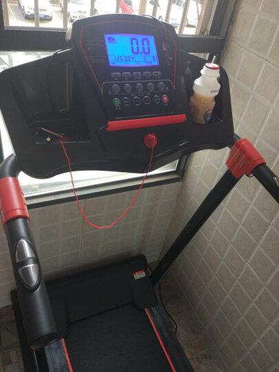 大学生DXS跑步机 家用小型迷你电动走步机APP智能折叠静音减肥运动健身器材 银灰智能APP版/35cm跑带/坡度调节 晒单图