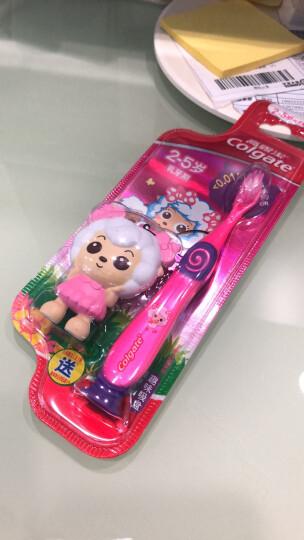 高露洁(Colgate) 妙妙刷  儿童牙刷 (2-5岁,颜色图案新老包装随机发) 晒单图