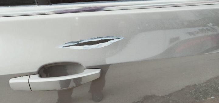 奥擎 汽车通用个性创意车贴 保护装饰车贴改装 车门拉手内门婉保护贴一套4片装 通用 晒单图