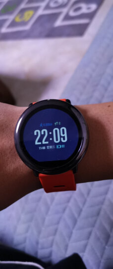 Amazfit 智能手表智能运动手表 华米科技出品手表 GPS定位  蓝牙听歌 红色 晒单图