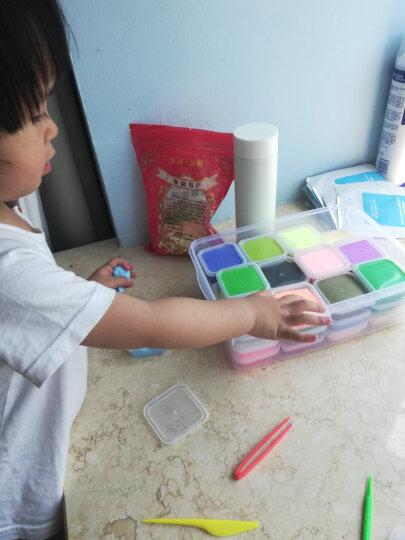 智高迪士尼苏菲亚公主彩泥粘土 36色橡皮泥 黏土沙套装 太空彩泥玩具 带塑料收纳箱 晒单图