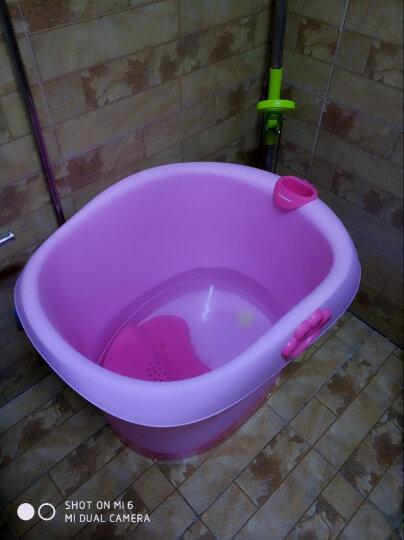 世纪宝贝(babyhood)儿童沐浴桶 宝宝洗澡桶 婴儿游泳桶中桶 新生儿游泳桶果粉色 BH-310 晒单图