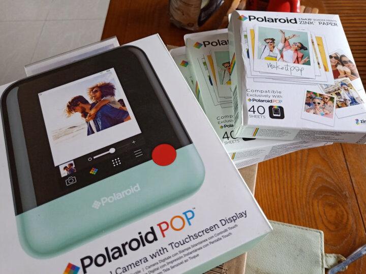 宝丽来(Polaroid)Zink3X4英寸 40张相纸 宝丽来POP系列拍立得相纸 即影即现无墨相纸 40张 晒单图