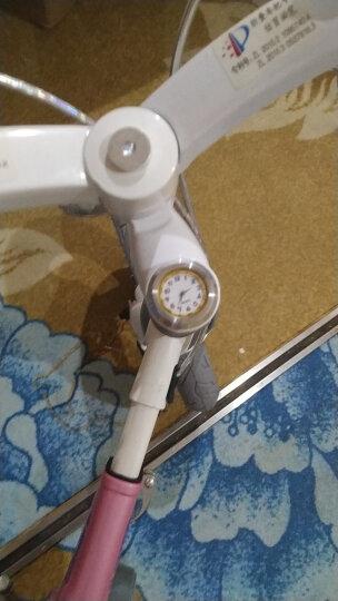 健儿(jianer)【可加长】儿童自行车男女小孩单车12/14/16寸 概念豪华款-公主粉(折叠车把双碟刹) 14寸 晒单图