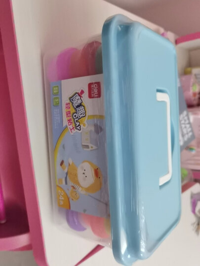 得力(deli)6455 魔趣超轻粘土套装 12色杯装手工DIY彩泥玩具 晒单图
